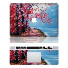 "Macbook Cover Decal Macbook Skin Macbook Stickers Mac Decals Vinyl for Apple Laptop MacBook Pro/ Air 11"" 13"" 15"" / iPad2. $17.99, via Etsy."