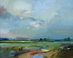 David Atkins: Clearing Skies Spring, Broadmayne, Dorset