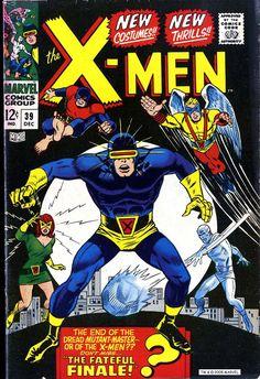 Uncanny X-Men Vol 1 #39 (December 1967)… The original X-Men get new duds… Finally…