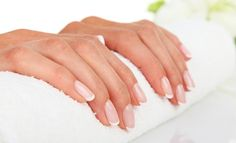 Three Ways to Treat Cracked Nails Gel French Manicure, Pedicure Spa, Manicure Y Pedicure, Mani Pedi, Bio Sculpture Gel Nails, Cracked Nails, Best Nail Salon, Facial Wash, Sun