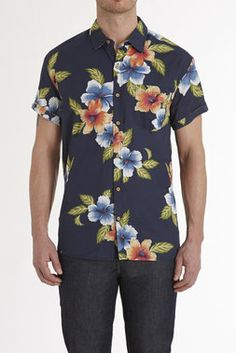 SOUL STAR S/S HAWAIIAN SHIRT