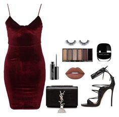 """Sans titre #547"" by charliesclothes ❤ liked on Polyvore featuring Glamorous, Dsquared2, Yves Saint Laurent, MAC Cosmetics, Lime Crime, Made of Me and Marc Jacobs"