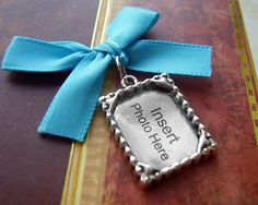 NEW  Something Blue Wedding Day Memorial Photo by AristoCrafty, $3.99