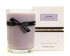 Paddywax 4-Inch Poured Glass Candle, Lavender - http://candles.pinterestbuys.com/paddywax/paddywax-4-inch-poured-glass-candle-lavender/