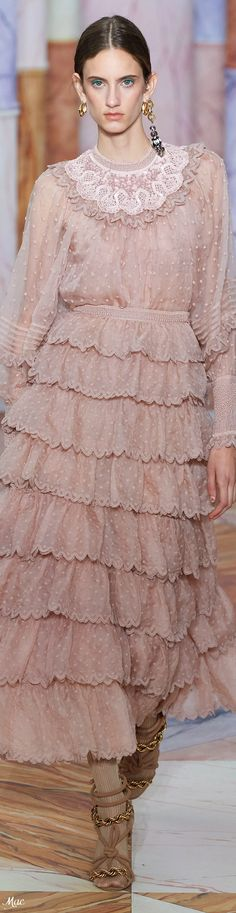 Fall 2020 RTW Ulla Johnson Glamour, Ulla Johnson, Fashion Labels, Pretty Dresses, Autumn Fashion, Nude, Beige, Pink, Fashion Trends