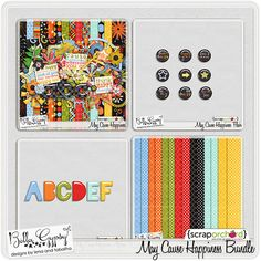 May Cause Happiness Bundle by Bella Gypsy Designs