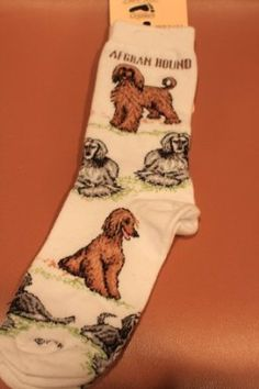 For Bare Feet- Afghan Hound Dog Adult Poses,$10.89