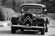 Citroën Traction Avant is booked! Mon Amour's Grandpapa's old car.