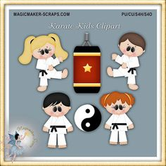Magicmaker-Scraps : Karate Kids Clipart - Poser Tubes Gift Certificates Cover Photos Clipart CU By Theme TOU Cards Freebies Background Papers Quickpages Digi-Scrapbook Kits Character Collection EXCLUSIVE ecommerce, open source, shop, online shopping