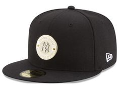 21dc6f5e628cc New York Yankees MLB Inner Gold Circle 59FIFTY Cap Hats New Era Yankees