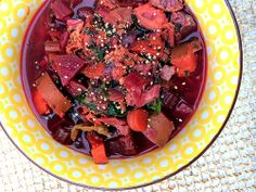 Ayurvedic Winter Vegetable Stew // vegenista.com