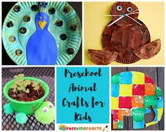 75+ Easy Crafts for Kids: Preschool Animal Crafts and Farm Animal Crafts for Kids | These are wonderful animal crafts for your preschooler!