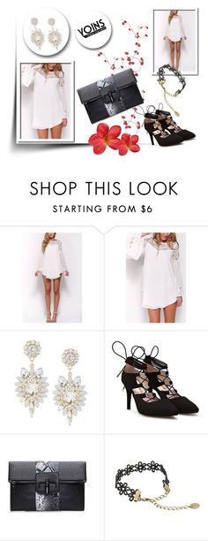 """""""Yoins 1"""" by april-lover ❤ liked on Polyvore featuring women's clothing, women's fashion, women, female, woman, misses, juniors and yoins"""