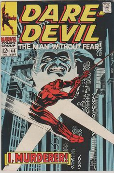 644 best Marvel Comic Books   TeamVintageUSA images on Pinterest Daredevil  Vol 1  44  Silver Age Comic Book  FN    September 1968