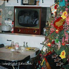 Kerst in de keuken, lang geleden...