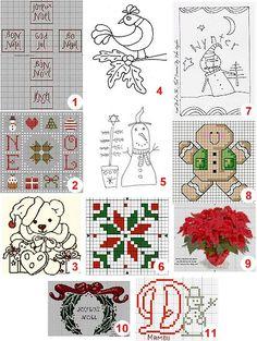 Free charts: Cross-stitch