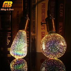 Cheap led light bulb, Buy Quality directly from China bulb Suppliers: [MingBen] Led Light Bulb Decoration Bulb Holiday Lights Novelty Christmas Lamp Lamparas Lampe 3d, Starry Night Light, Galaxy Lights, Christmas Lamp, Lumiere Led, Holiday Lights, Led Lamp, Shopping
