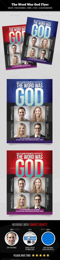 The Word Was God Flyer