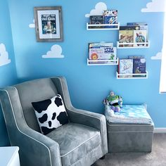 In honor of Toy Story Land opening June at Disney's Hollywood Studios, checkout how we experience the magic of Toy Story everyday in our little mans nursery!