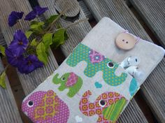 Iphone 6 cover / Fabric Case Nexus 5 Cover / Nexus 5 by Driworks