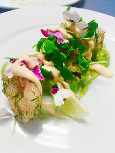 Deconstructed prawn coctail