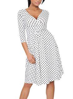 RTYou Womens Comfy Casual Pajamas Pant Polka Printed High Waist Drawstring Palazzo Wide Legs Lounge Pants Trousers