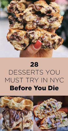 28 Desserts You Must Try in New York City. New York Vacation, New York City Travel, New York City Eats, New York Trip, New York Breakfast, New York Essen, New York Restaurants, Nyc Bucket List, Bucket Lists