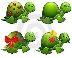 Cute Turtle Clip Art | turtle clip art photo: TURTLES!!! cute-cartoon-green-turtles-clip-art ...