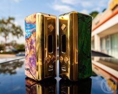 It's the weekend!  Its a beautiful day!  And we have new mods!    Allow me to introduce our latest addition at EVCigarettes.com, the Tuglyfe DNA 250 Stabwood Box Mod by Flawless Vape!    The best thing about stabwood finishes is that no 2 ever come out exactly the same, so you can rest assured that your Tuglyfe DNA 250 will completely one-of-a-kind!