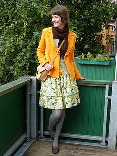 How to make a super-simple, super-cute skirt. | tagtraeumerin