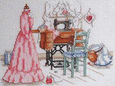 Paula Vaughn Cross Stitch