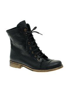 Leather Lace Up Ankle Boots $137.92