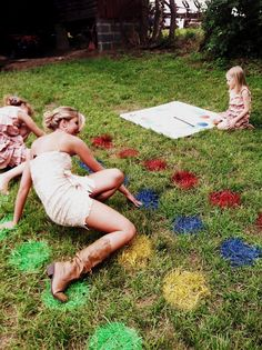 Twister! Farm Wedding Activity http://thebridalparty.net