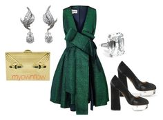 """""""MEETIN MY HARRY"""" by myownflow on Polyvore featuring A.W.A.K.E., Charlotte Olympia, Judith Leiber and Harry Winston"""