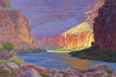 Grand Canyon Painting - Inner Glow Of The Canyon by Cody DeLong