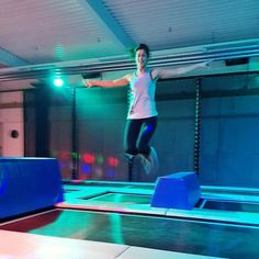 We had such a blast yesterday evening at our swiss meeting in the trampoline park - I LOVE to jump and play around and its not just fun its kind of a workout too. Thanks for such a nice meeting thx for the picture Flexibility Fitness, Trampoline Park, Asics, Basketball Court, Europe, Play, Motivation, Healthy, Fun