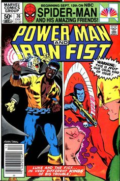 A cover gallery for the comic book Luke Cage: Power Man Star Comics, Marvel Comics, Powerman And Iron Fist, Luke Cage Iron Fist, Luke Cage Marvel, Comic Frame, Mister Fantastic, Heroes For Hire, Hama