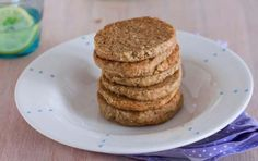 Shortbread Cookies with Walnuts