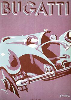 ✨ Gerold Hunziker - Bugatti, 1932