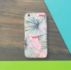 Clear TPU Case Cover - Exotic Hibiscus – Milkyway