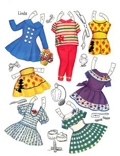 Paper Dolls~Little Models - Bonnie Jones - Picasa Web Albums