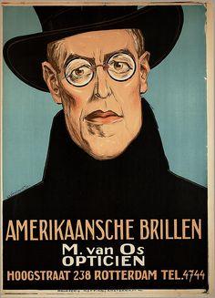 #zienrs #glasses #brillen #zonnebrillen Amerikaansche brillen -- Verschuuren jr., Charles