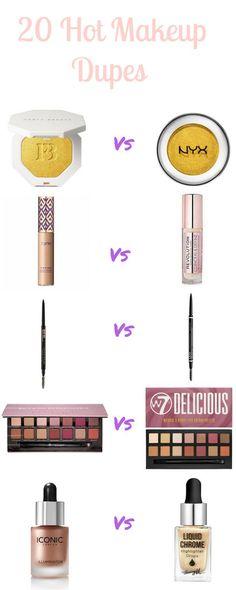 20 Makeup Dupes