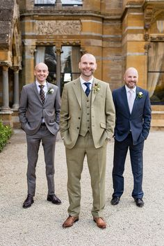 Groom wears a brown country house suit   Photography by http://www.johastingsphotography.co.uk/