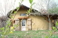 Cob home built by architect and natural builder Ileana Mavrodin of Casa Verde in Banat, Romania. She, with a few others, are using natural materials in Romania to help people rediscover their local skills and community spirit.