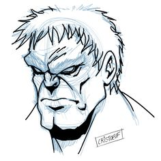 [Marvel] How to draw Hulk Sketch Monster Drawing, Drawing S, Hulk Sketch, Realistic Cartoons, Comic Styles, Disney Marvel, Illustration Sketches, Marvel Comics, 2d