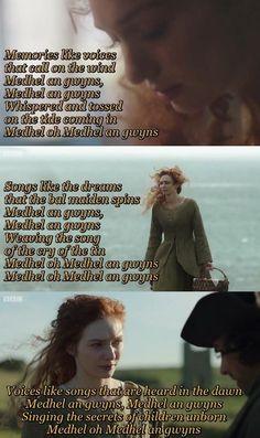 Medhel an gwyns | Demelza's song.