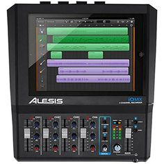 Alesis iO Mix 4-Channel Audio Interface/Mixer for iPad Alesis http://www.amazon.com/dp/B00F3F70A0/ref=cm_sw_r_pi_dp_w860vb1V4Q2E5