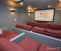 What better place to watch #MarchMadness than in your own private theater with surround sound and cinema quality picture?! Don't settle for anything less than the best when it comes to watching your favorite team!  #OBX #Oceans18