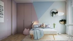 7 Beautiful Examples To Help You Design A Room For A Young Girl